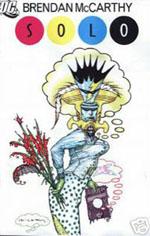 DC Comics Solo Brendan McCarthy issue front cover solo 12